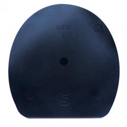 Plaque Noire Compensée Double S WFP