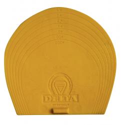 Plaques Plastic pour Chaussons DELTA