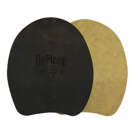 Plaque DePlano bi-composant cuir/plastique