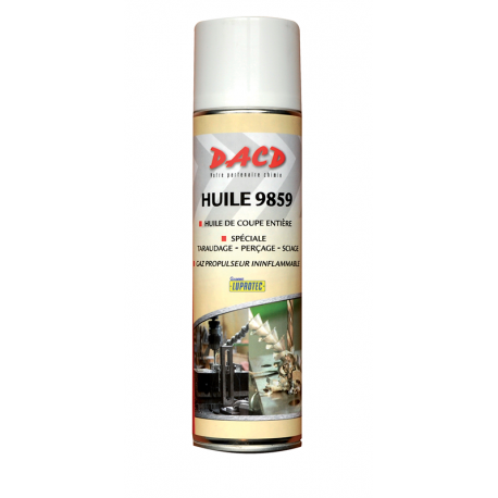 Huile de coupe en spray 500 ml Testron 9859